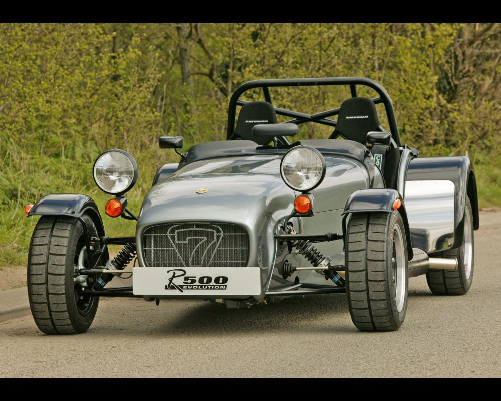 2004 Caterham Superlight R500 Evolution – Front Angle | HD Car ...