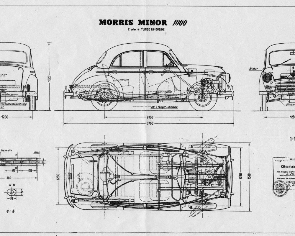 Mini Cooper - The Morris Minor: A British miracle