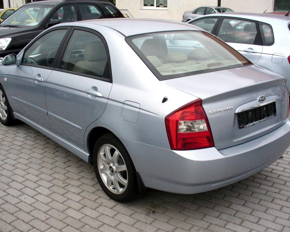 Kia cerato 2.0 ex. Best photos and information of modification.