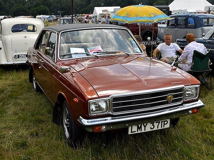 Classic and Vintage Cars - Hillman Hunter Super