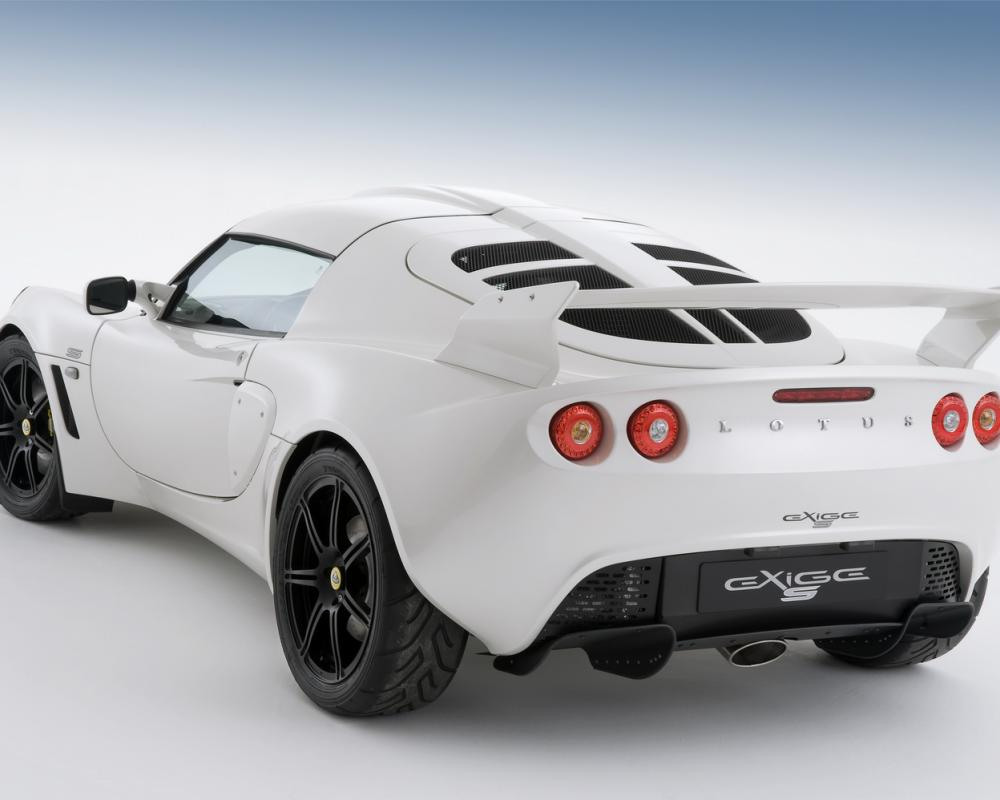 Lotus Exige S with V6 engine