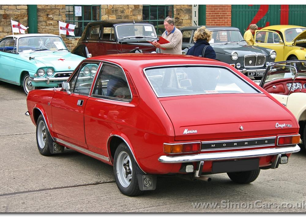 Simon Cars - Morris Marina - The British Leyland 'Cortina killer'