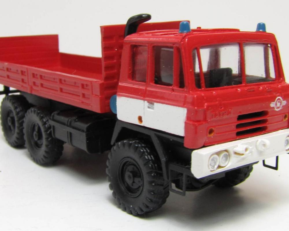 1/87 Combat ready, Tatra 815 6x6, fire engine