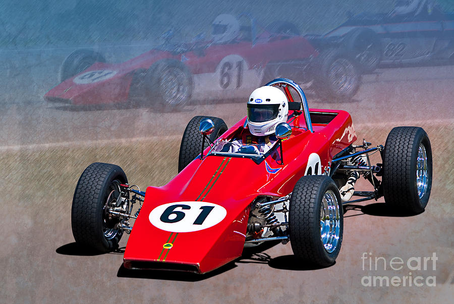 1969 Lotus 61 Formula Ford Photograph by Stuart Row - 1969 Lotus ...