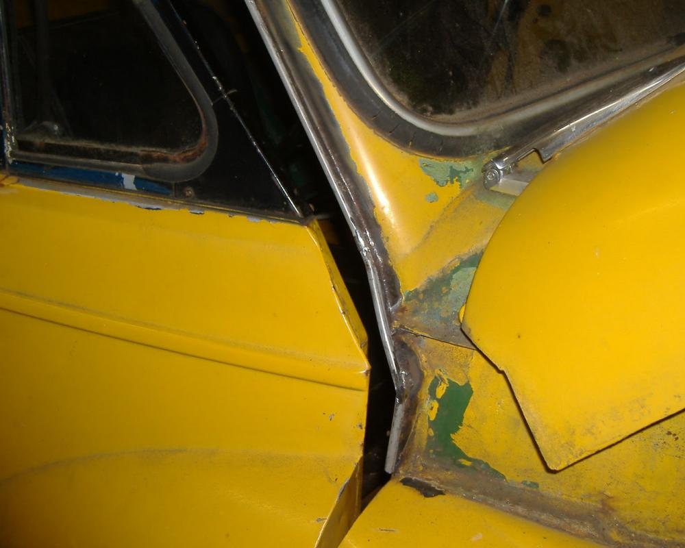 MTR-Restorations.: Late Morris Minor Cab gutter repairs.