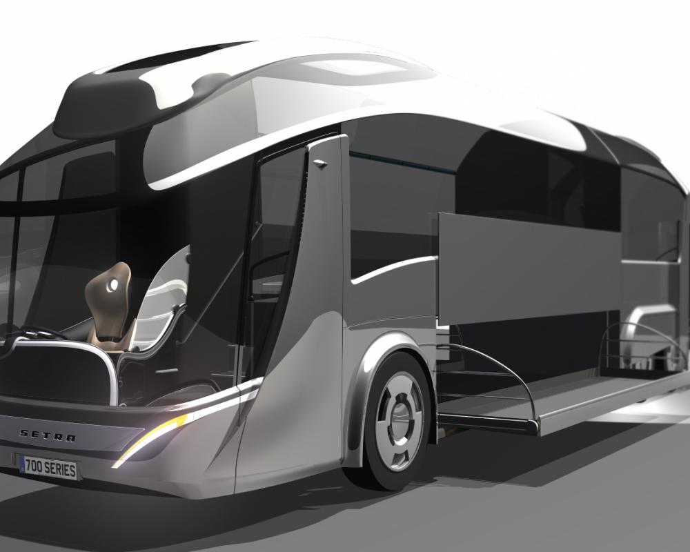 Setra Coach by Peter Spriggs at Coroflot.