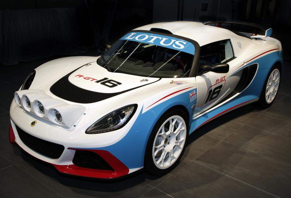 Lotus Exige R-GT also premiered at Frankfurt