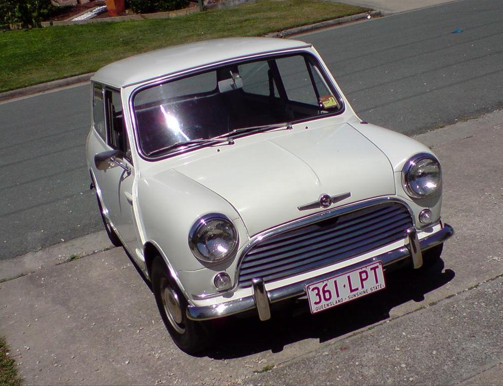 "1967 Morris Mini Minor ""Morris Mini.Matic"" - Sunshine Coast, owned ..."