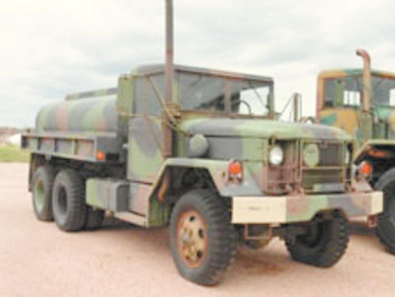 1977 Am General M35A2 Water Tank Trucks | RANCHERS SUPPLY COMPANY ...
