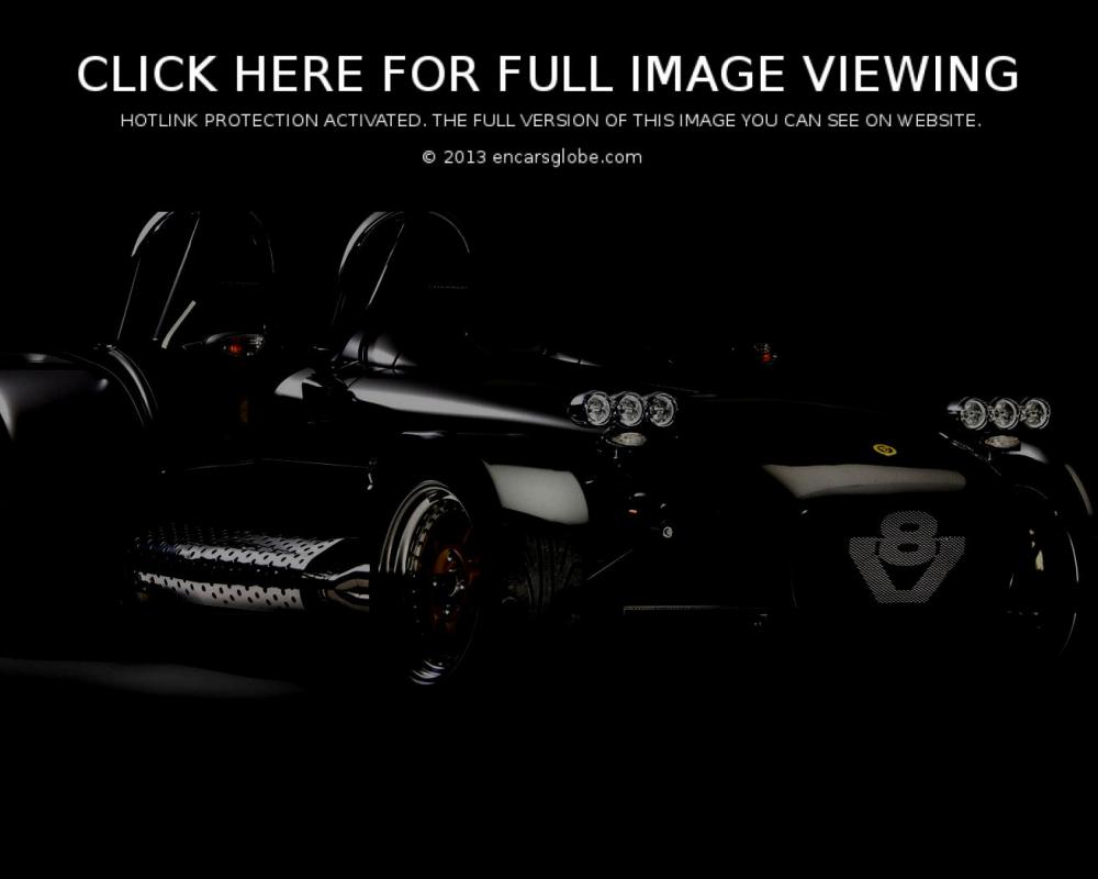 Caterham Seven: Description of the model, photo gallery ...