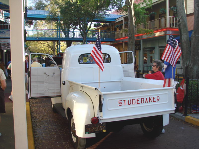 1946 STUDEBAKER M SERIES PICKUP TRUCK, OLD TOWN CRUISE NIGHTS ...