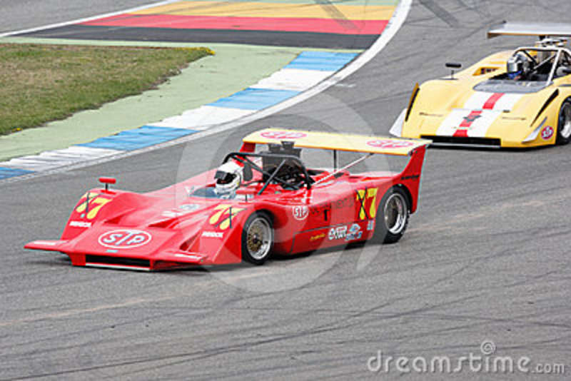 Historic March 707 Canam Car Royalty Free Stock Photo - Image ...