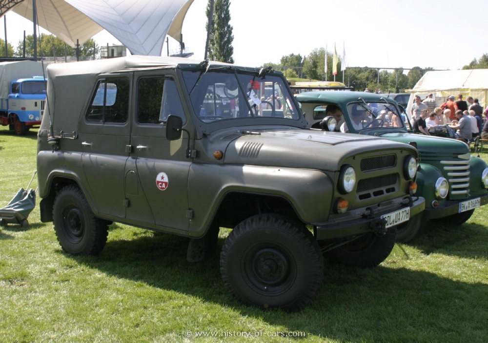 uaz 1973 469b - the history of cars - exotic cars - customs - hot ...