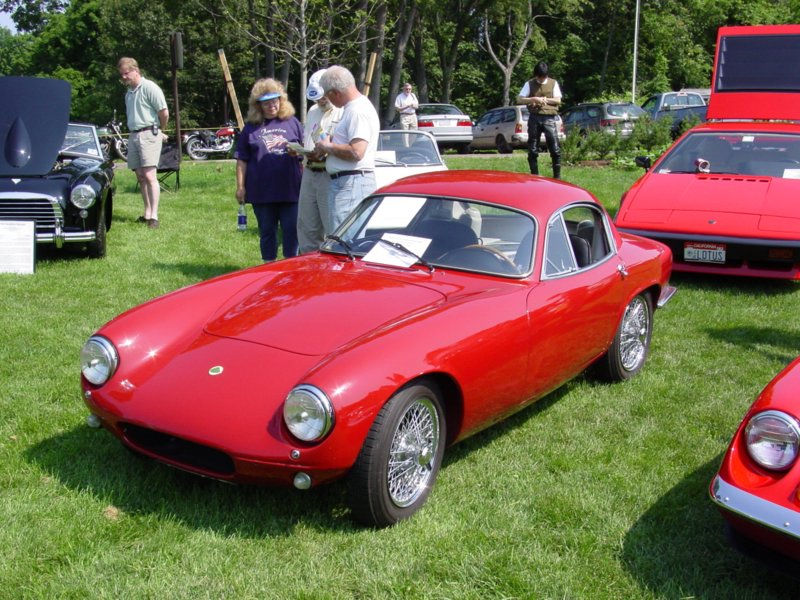 Pictures of a 1960 Lotus Elite
