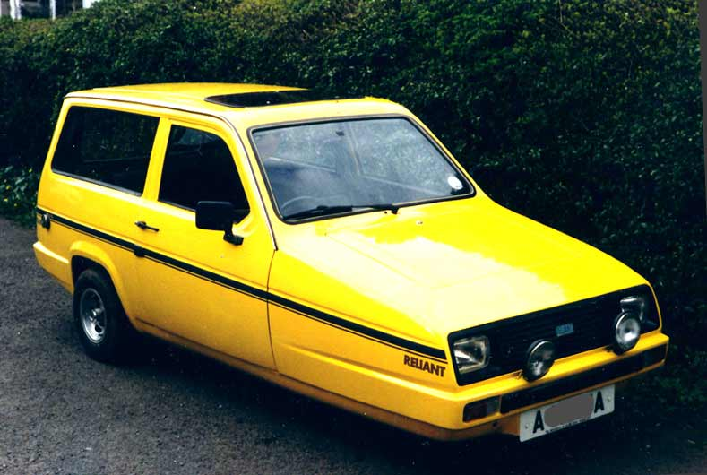 Reliant Rialto: Best Images Collection of Reliant Rialto