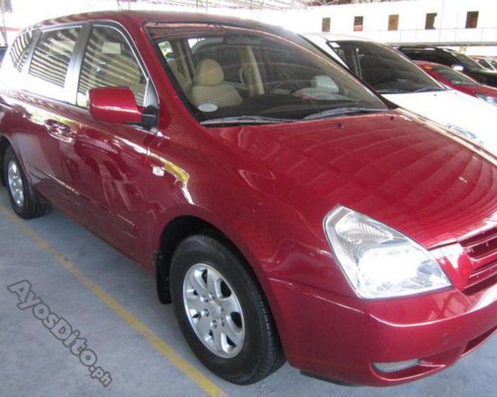 Kia Carnival LX AT - 08 diesel Color RED | Cars for sale Pasig ...