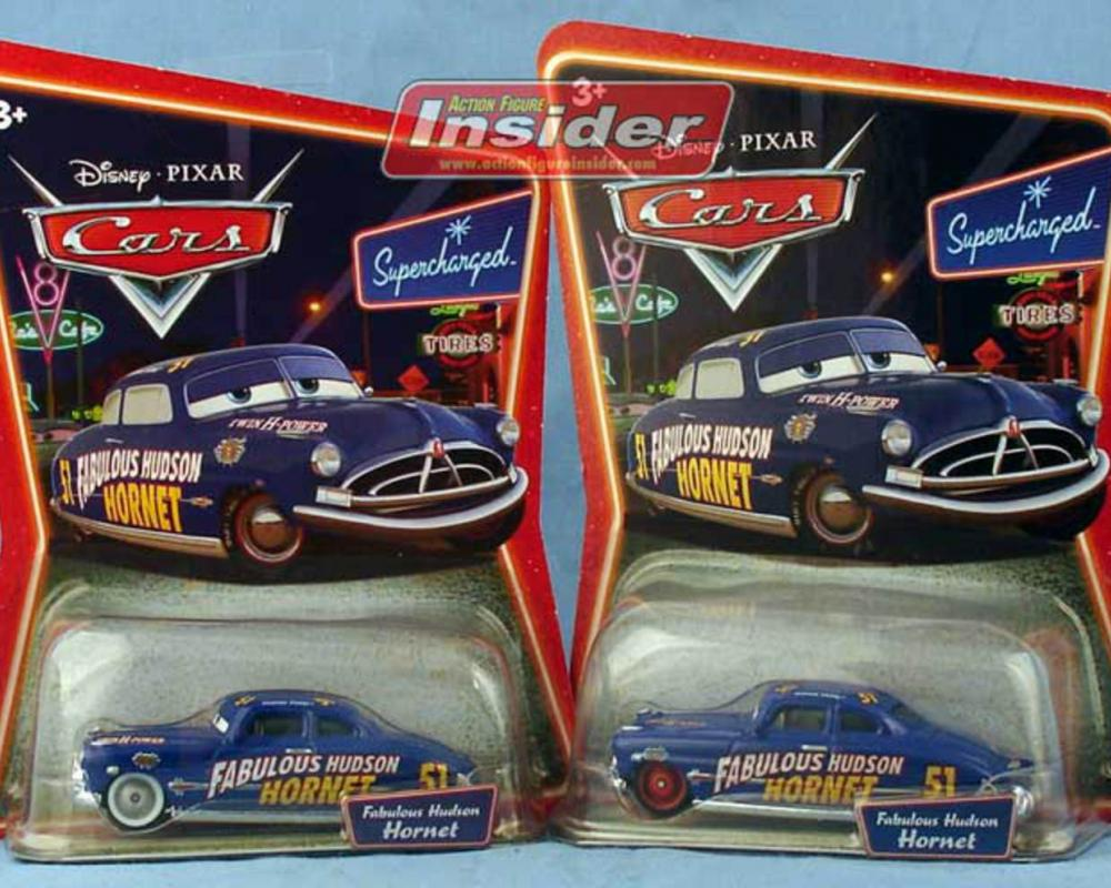 MarxBlog A small CARS update- the red-wheeled Hudson Hornet