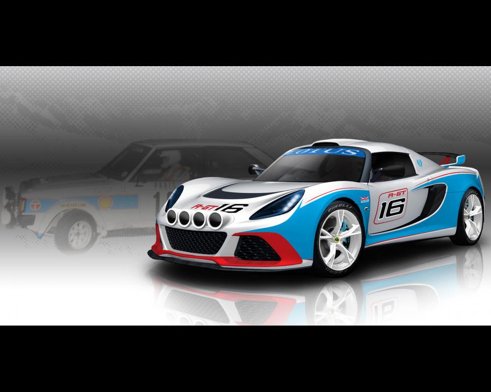 2012 Lotus Exige R-GT Rally Car - Talbot Sunbeam Lotus - 1920x1440 ...