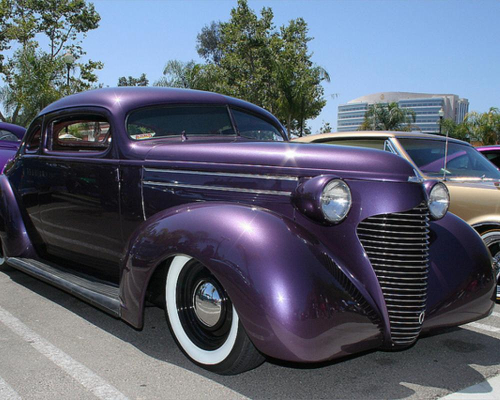 1939 Hudson 112 Coupe - custom - purple met - fvr2 | Flickr ...