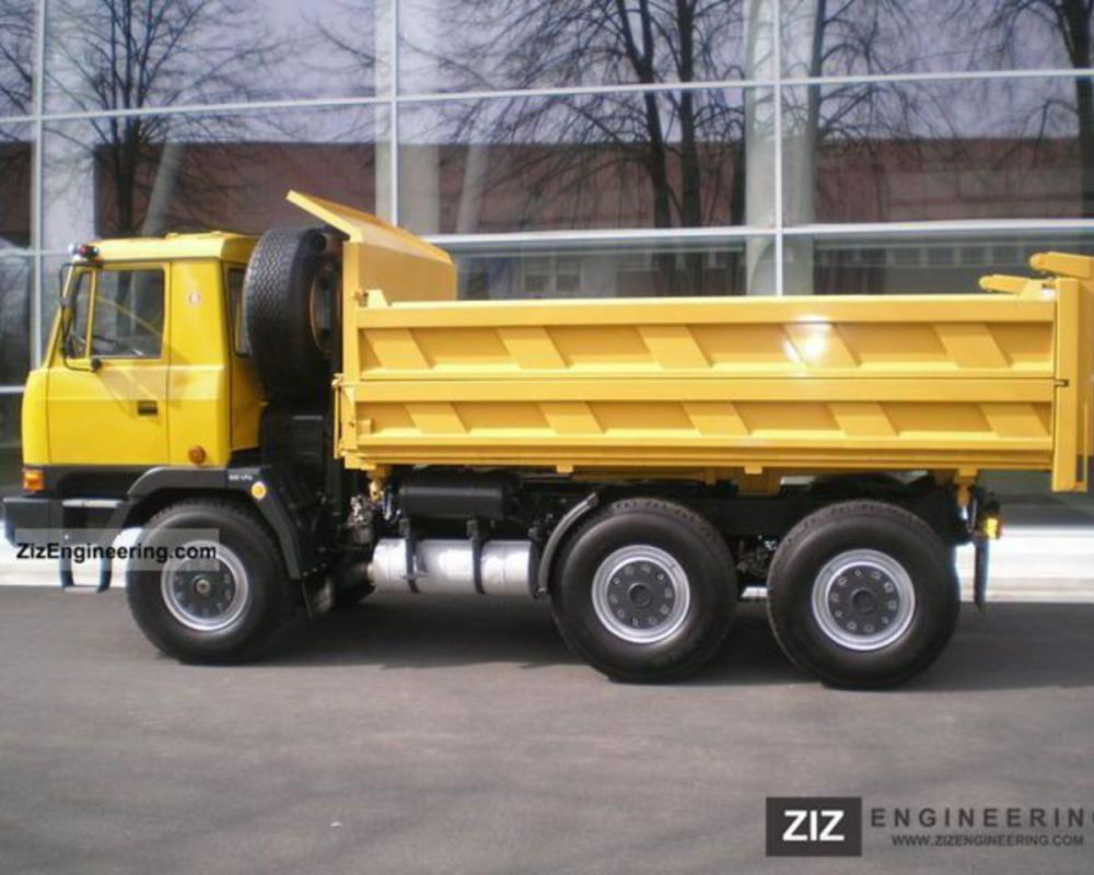 Tatra TATRA 815 S3, T6, Tipper 1994 Three-sided Tipper Truck Photo ...