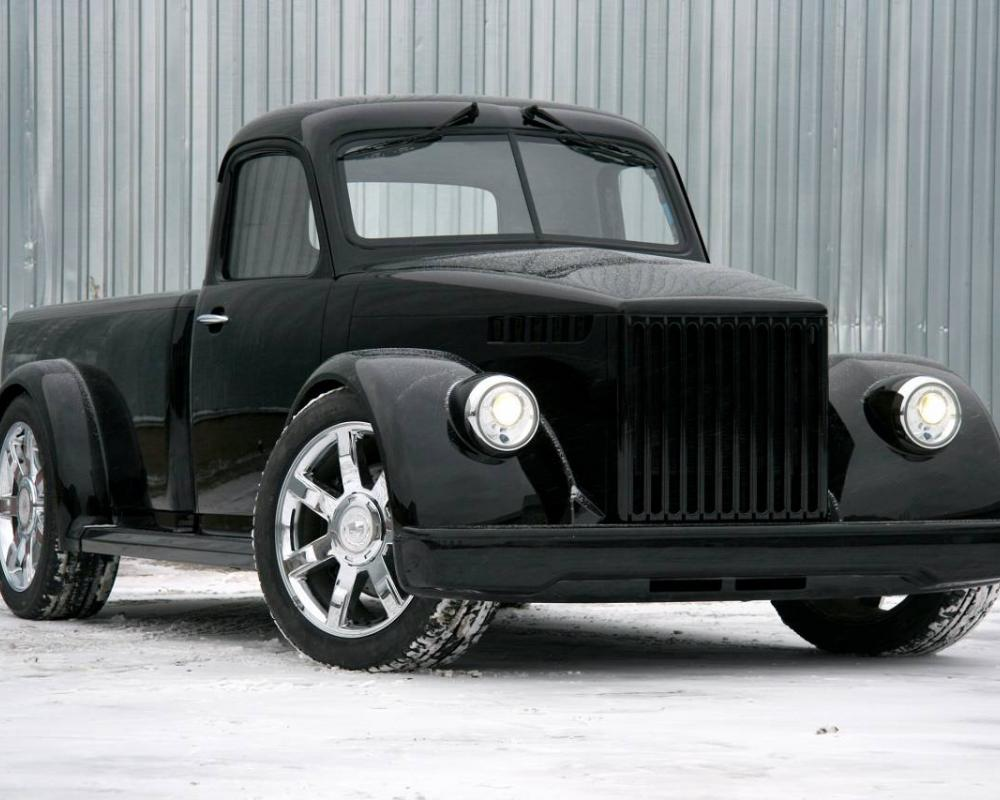 GAZ-51 Retro Hot-Rod from Cadillac Escalade EXT | Muscle Car ...