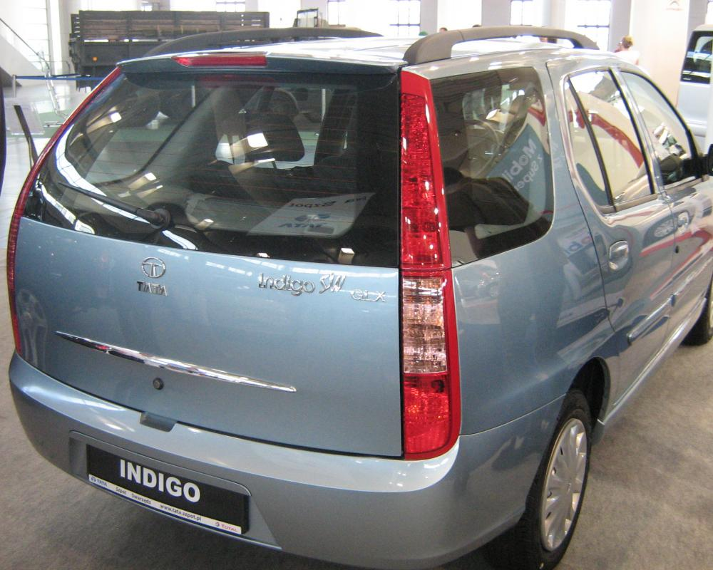 File:Tata Indigo SW Facelift rear - PSM 2009.jpg - Wikimedia Commons