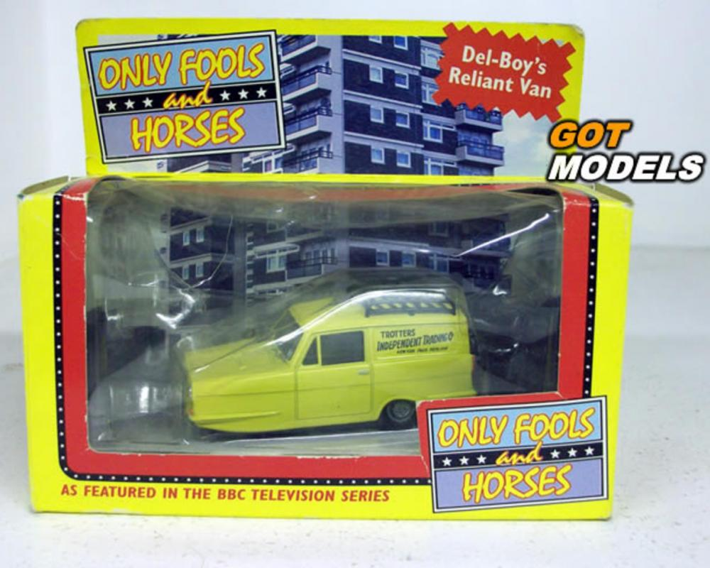 RELIANT REGAL SUPER VAN 1/43 SCALE CORGI MODEL CAR ONLY FOOLS ...