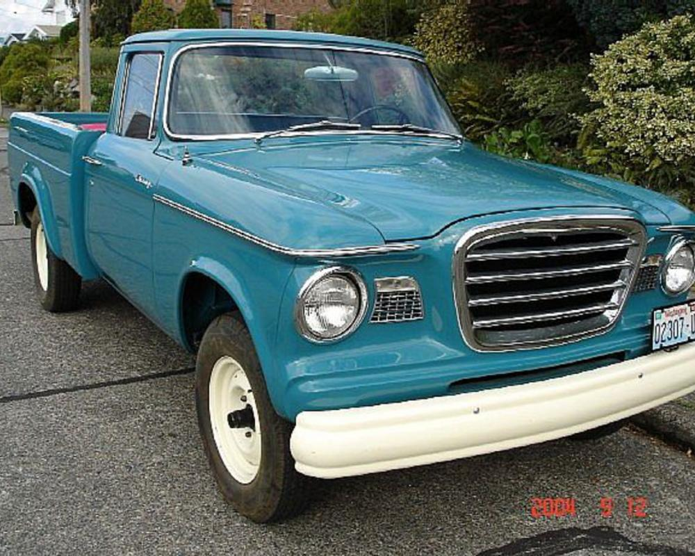 1962 Studebaker Champ Pickup For Sale Seattle, Washington
