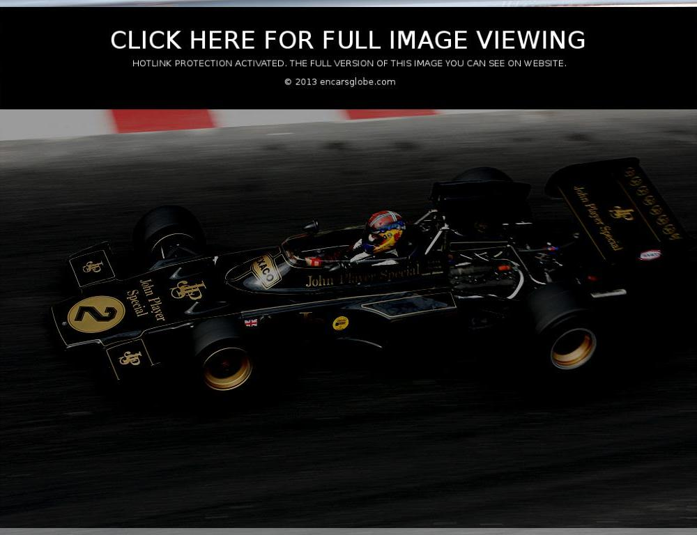 Lotus 72: Description of the model, photo gallery, modifications ...
