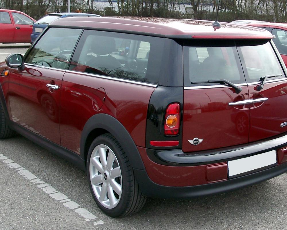 File:Mini Clubman rear 20080228.jpg - Wikimedia Commons