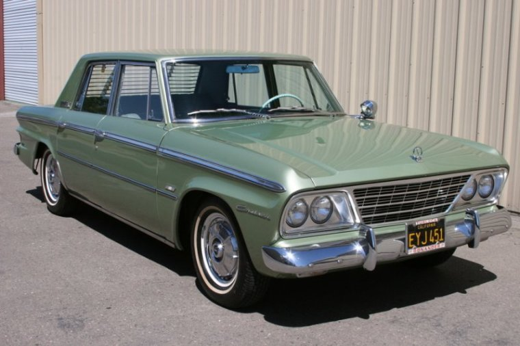 1964 Green Studebaker Cruiser Car Photo | Studebaker Car Pictures