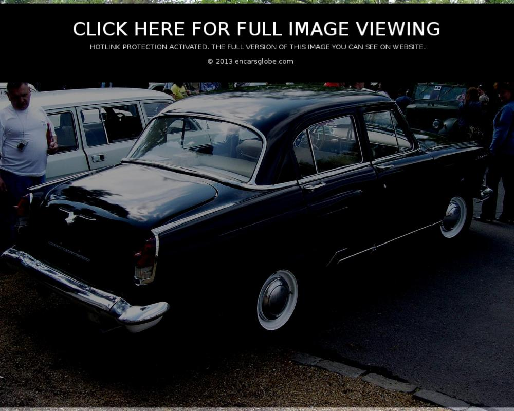 GAZ M-22 B Volga: Photo gallery, complete information about model ...