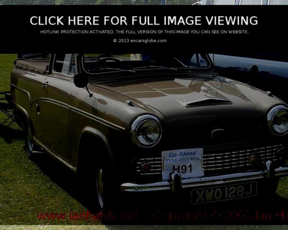Austin A60: Description of the model, photo gallery, modifications ...