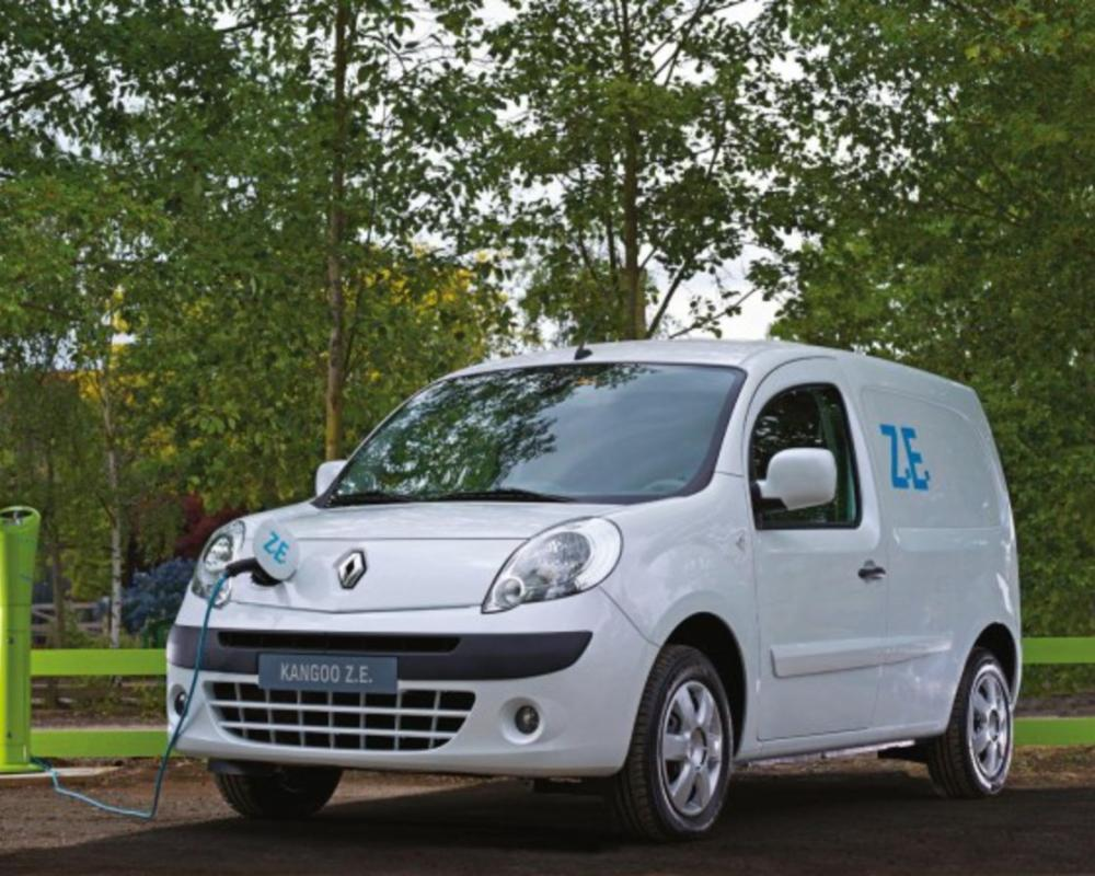Renault Kangoo voted International Van of the Year