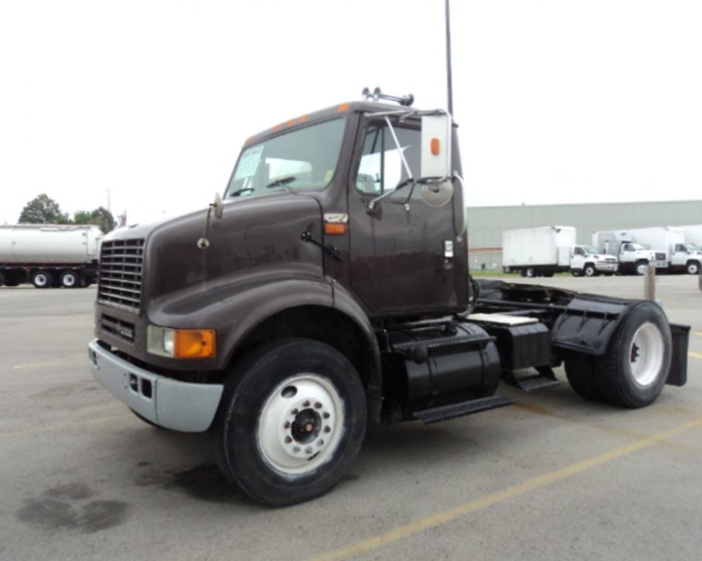 Used 2000 INTERNATIONAL 8100 Single Axle Daycab For Sale ...