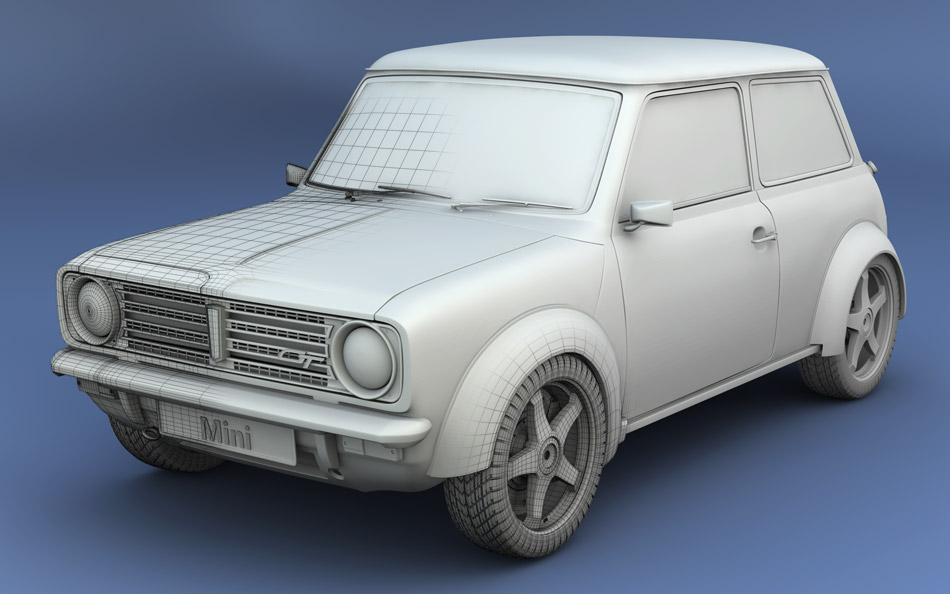 Mini 1275 GT by ~jj-maxer on deviantART