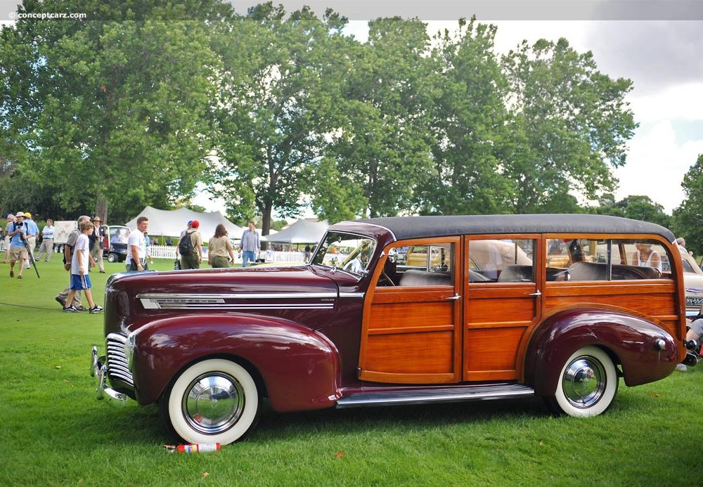 1941 Hudson Super Six Images, Information and History (Series 11 ...