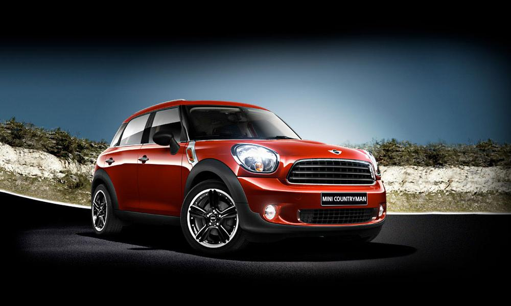 SUV Cars by MINI – MINI Countryman SUV and small 4x4 Cars