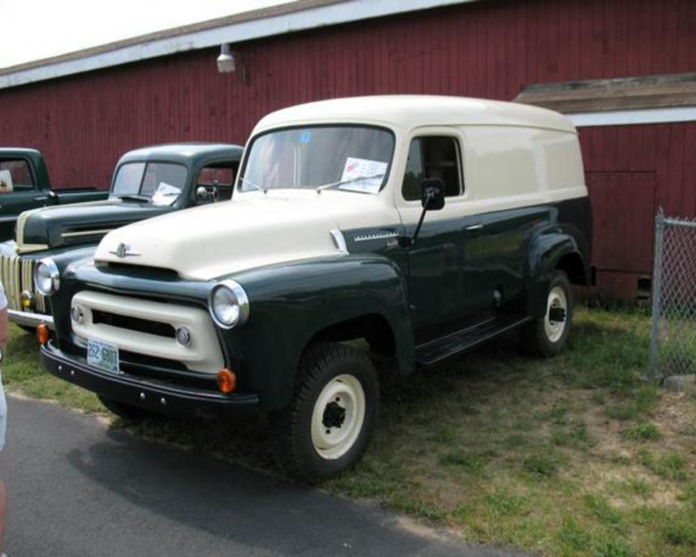 1955 International Panel Truck (Side) Photos from Russel Wood ...