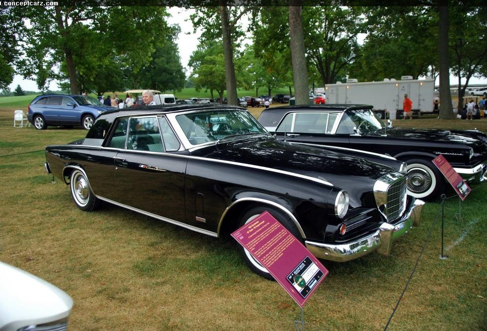Auction results and data for 1963 Studebaker Gran Turismo Hawk (GT ...
