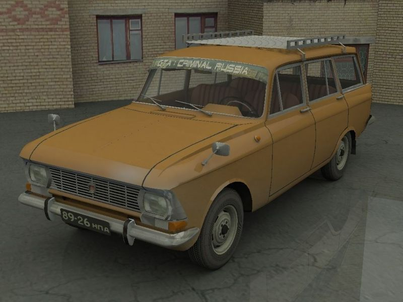 User:Lioshenka/Grand Theft Auto: Criminal Russia/Vehicles - GTA ...