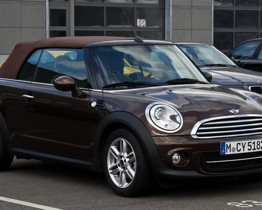 File:Mini Cooper Cabriolet (R57, Facelift) – Frontansicht, 17 ...