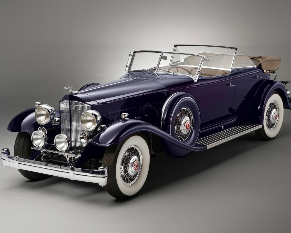 Download wallpaper Packard, Twin Six, Sport, retrob phaeton free ...