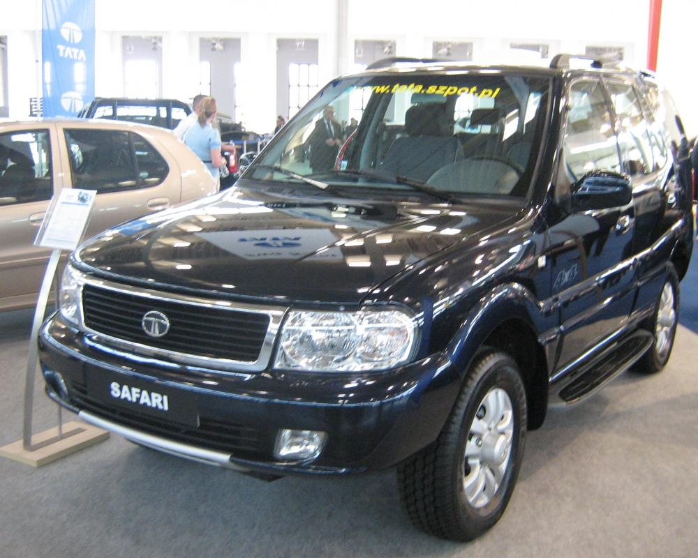 File:Tata Safari II front - PSM 2009.jpg - Wikimedia Commons