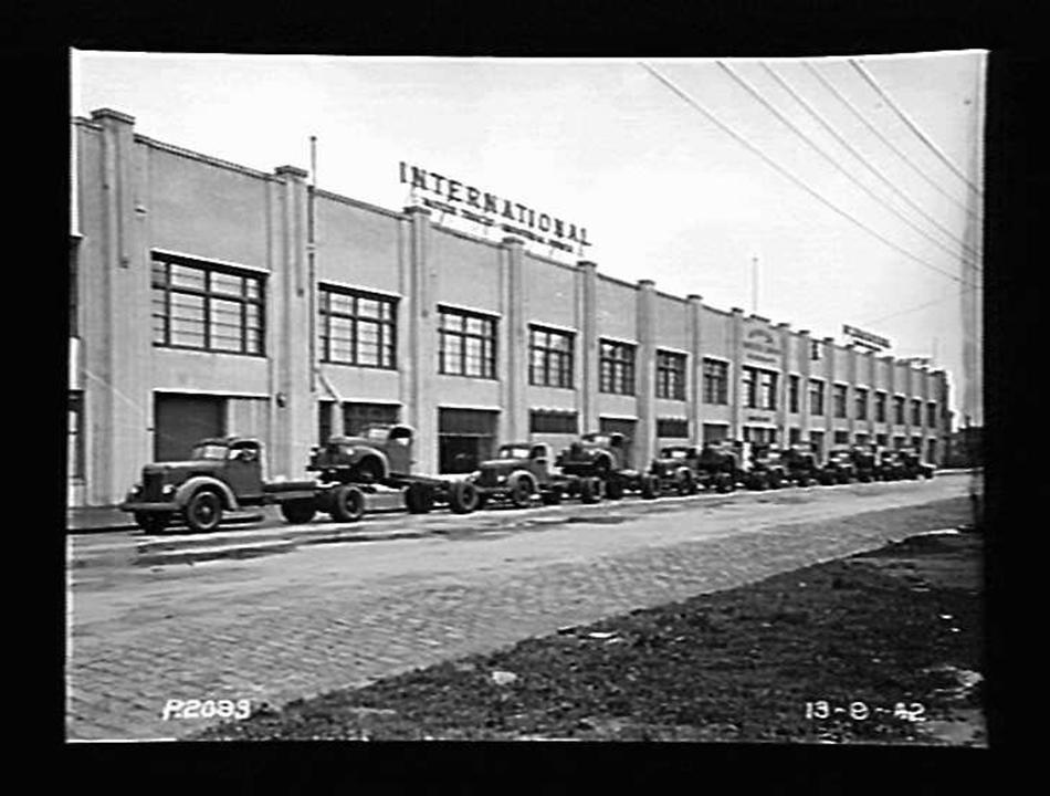 Glass Negative - International Harvester, K Series Motor Trucks ...