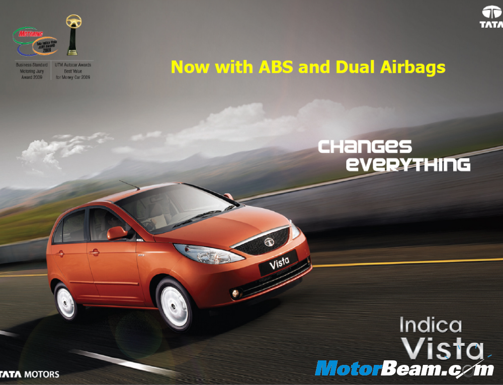 Tata Indica Vista Aura ABS & Aura+ Launched