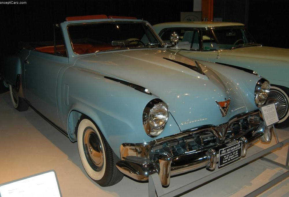 1952 Studebaker Commander State Starliner Images. Photo ...