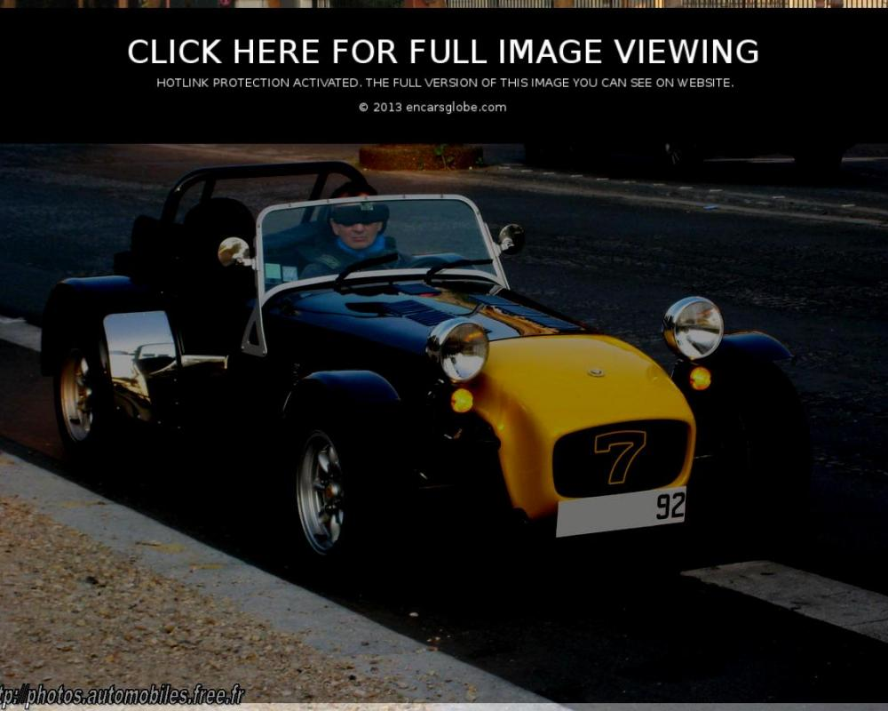 Caterham Super Seven: Photo gallery, complete information about ...