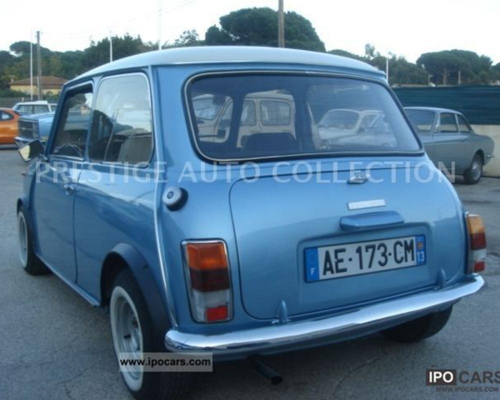 1980 MINI 1100 SPECIAL - Car Photo and Specs