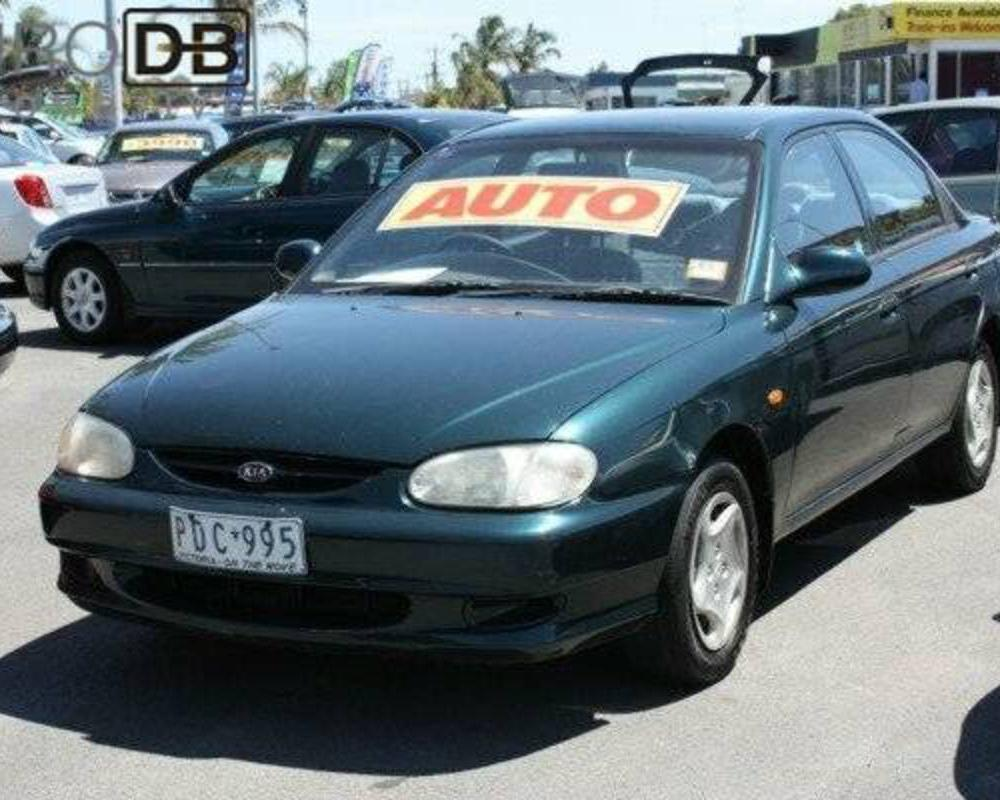 Specs for 1999 KIA MENTOR SLX 4 SP AUTOMATIC at EURO DB Automotive ...